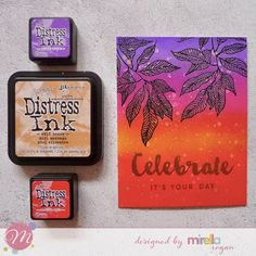 Handmade By Mirella: Almost one layer cards with Mudra Craft Stamps