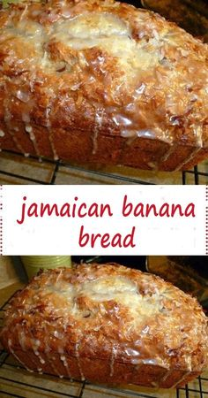 dessert recipes 812899801478802760 - Banana bread remains one of Jamaica's favourite pastries! It's truly a mouth-watering Jamaican dessert that has been passed down from generation to generation. Banana Dessert Recipes, Chocolate Chip Recipes, Banana Bread Recipes, Banana Bread Puddings, Homemade Banana Bread, Baking Desserts, Cake Baking, Health Desserts, Bread Baking