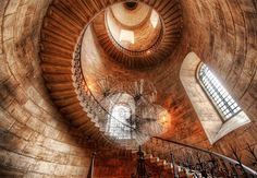 Spiralstorm - Spiralstorm  This beautiful staircase was found in a small cloister while I was about to exit St. Paul's Cathedral in London. I took some extra time while I was over there for the workshop to explore places like this. There were only a few days extra, but I tried to make the most of it.