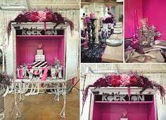 rock wedding venue decor - Google Search