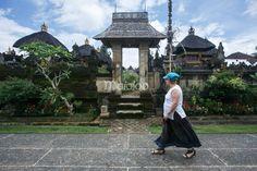 Bangunan arsitektur rumah adat warga di salah satu sudut Desa Penglipuran, Bali. (Reza Fitriyanto/Maioloo.com)