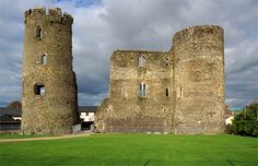 Ferns castle was built in the century possibly by William Earl Marshall Located in ferns village this historic building is a must visit Castle House, Castle Ruins, Wexford County, Wexford Ireland, Alder Tree, Ireland Travel Guide, Ireland Homes, Woodland Forest, Forest House