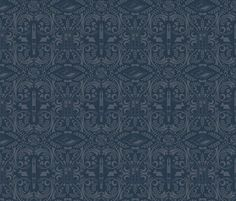 The Doctor's favorite things fabric by kdowning for sale on Spoonflower - custom fabric, wallpaper and wall decals