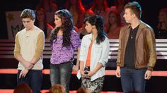 Jessica Meuse, Alex Preston, Jena Irene and Sam Woolf receiving their results. See more pics: http://idol.ly/Top11Results
