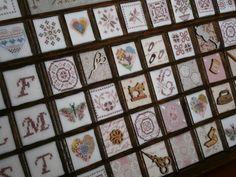 Trabajo sobre cajón de imprenta realizado por Celia Salas .Febrero de 2013.