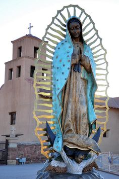 Santuario de Guadalupe    Our Lady of Guadalupe Shrine - Santa Fe