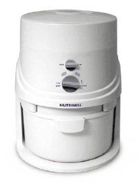 Nutrimill Grain Mill - so much healthier to mill your own wheat