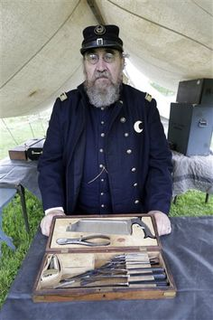 Civil War living history encampment, George Spangler Farm, Gettysburg National Military Park. Photo by Matt Rourke, East Valley Tribune.