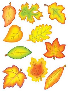 Teacher Created Resources Accent Dazzlers Autumn Leaves - Buy Accent Dazzlers Autumn Leaves online a Autumn Art, Autumn Leaves, Autumn Activities, Activities For Kids, Fall Crafts, Crafts For Kids, Fall Classroom Decorations, School Decorations, Moldes Halloween