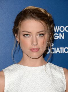 If You Only See One Hairstyle Today, It's GOT to Be the Braided Updo Amber Heard Wore Last Night. No, Really.