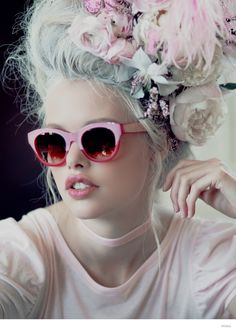 Wildfox Launches Marie Antoinette Inspired Sunglasses Lookbook #rococco return