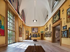 The Barnes Foundation | Fine collection of post-impressionist and early modern art, including pieces by Monet and Matisse. The first Sunday of every month is free. | #bhldnphilly