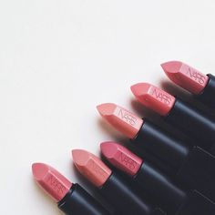 Image via We Heart It #beautiful #beauty #fashion #lips #lipstick #makeup #nars #pink #rougeàlevres #rouged