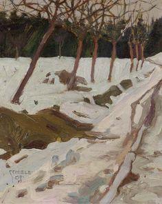"""Schnee"" by Egon Schiele, 1908 via Lauren scotto Landscape Art, Landscape Paintings, Gustav Klimt, Painting Snow, Painting & Drawing, Winter Art, Winter Road, Art Moderne, Snow"