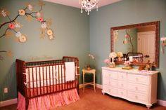 Elegant DIY Baby Room