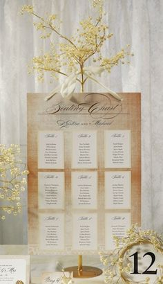Pearl & Vintage Gold Wire Fantasy Tree from Wedding Favors Unlimited $27