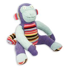 Fun, cozy, stuffed animals, hand puppets and other goods for kids are made at the Cate & Levi studio in Toronto. Repurposed wool sweaters are used in Old Sweater, Sweaters, Hand Puppets, Plush Animals, Baby Grows, Toy Boxes, Plushies, Dinosaur Stuffed Animal, Stuffed Animals