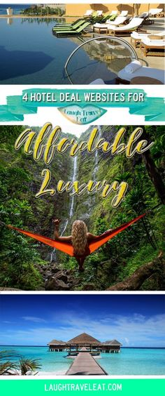 Staying at luxury hotels and great accommodations when you travel is the dream. But it costs. Here's how you can afford luxury affordably: