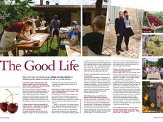 It may be off the beaten path, but it sure is the good life. When our friends at Italia! Magazine heard we& celebr. Italian Life, Living In Italy, When Us, Paths, Life Is Good, Good Things, Magazine, Friends, Amigos