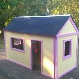 Super easy DIY Playhouse - show to Nathan since he's wanting to make one