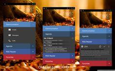 Old List Android UI | #design #ui #ux #mobile #minimal #tablet #inspiration #flat