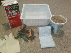 "Little paleontologists ""excavate"" and uncover hidden treasures inside.  Complete directions for how to make ""Dino Stones"" with plaster of paris and a few common items."