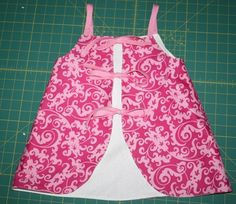 Peanut to Princess: Reversible Tie Back Swing Top {Tutorial} > Almost like blogger saw our little kids costumes LOL >but will pin here for reminder to make them ALL reversible when possible>(oops not for Sewing tips Pins but will leave in this section anyhow as is a good tutorial... repinning to show choir costume ideas) #ThePerfectSwing