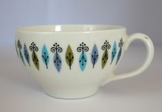 My new mission: to find additional pieces of this pattern.    Syracuse China Nordic Pattern  1966-70