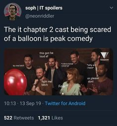 Funny moments in The It Movie Chapter 2 It Movie Cast, I Movie, It Cast, Saga, Scary Movies, Good Movies, Horror Movies, It The Clown Movie, Im A Loser