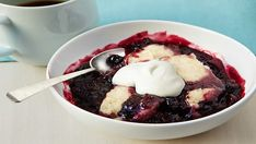 Photo of Slow Cooker Berry Cobbler