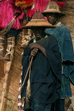 Dogon indigo people