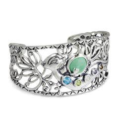 Wanesia Misquadace Otter Cuff Bracelet