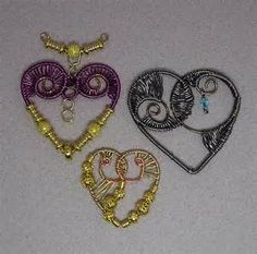 ... . Twisting with Diane Wire Beads Necklace Jewelry Making Project made