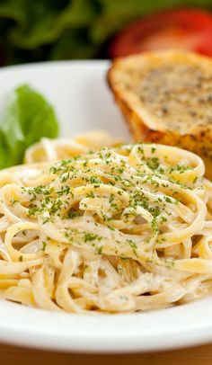Weight Watchers Fettuccine Alfredo Recipe