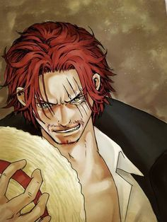 shanks - One piece - Artist unknow