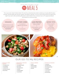 Go-To Meal 5 Recipes #M5 #TIU #Toneitup