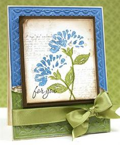 Stampin' Up (SU) Card - I like these colors
