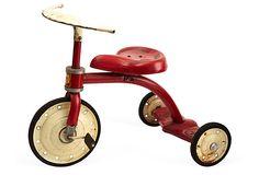 "1950s American Tricycle Tomato Factory - Fritz Karch 22""L x 13""W x 15""H ($675.00) $385.00 OneKingsLane.com"