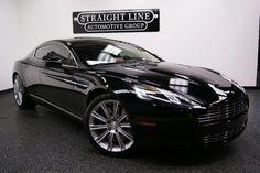Aston Martin Rapide... Black. The right color. :) #pinterest