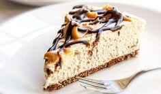Cremiger Low Carb Karamell-Quark-Kuchen