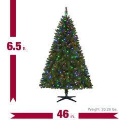 9' Keyser Pine Christmas Tree at Menards   Holiday   Pinterest ...