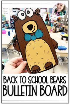 "This kit has everything you need to make an eye-catching BACK TO SCHOOL and/or END OF THE YEAR bulletin board or door décor display. The kids will have so much fun filling in what a ""beary"" good year they had and/or introducing themselves with the ""Beary"" Nice to Meet you theme for back to school time.There are two different writing templates provided with two different handwriting line choices which makes this writing craft great for grades K all the way up to grade 2."