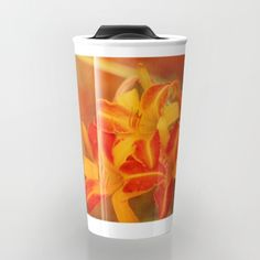 """CYBER MONDAY STARTS NOW - 20% OFF + FREE SHIPPING ON EVERYTHING!  Take your coffee to go with a personalized ceramic travel mug.  Double-walled with a press-in suction lid, the two-piece (12oz) design ensures long lasting temperatures while minimizing the risk of spillage from kitchen to car to office. Standing at just over 6"""" tall with wrap around artwork, safely sip hot or cold beverages from this one of a kind mug."""