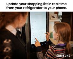 The Family Hub refrigerator makes sure you remember every ingredient. Add grocery items to your list directly on the fridge, and they will update in real time on your smartphone's Family Hub app. Forgetting your shopping list at home is now a thing of the past.