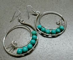 #165 Silver plated chaoliti stone earrings/ επάργυρα