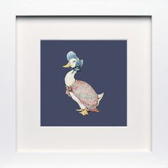 Jemima Puddleduck - Limited Edition Print - Beatrix Potter - Beatrix Potter Art, Poster, Gift - Art You Grew Up With