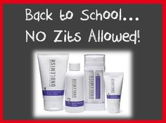 Head Back to School Acne Free! Self esteem can take a beating for teens with acne (no matter how minor) -- don't let zits have an affect on your teen's confidence. Contact me today to get your kids Rodan+Fields UNBLEMISH Regimen. Homemade Acne Treatment, Best Acne Treatment, Back Pimples, Roden And Fields, My Rodan And Fields, Acne Blemishes, Thing 1, Acne Free, Going Back To School