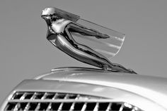 Art Deco Car Mascot Cadillac 1937 by Mark Clemas Photography