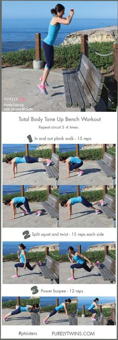 Ladies it's time to change up your workout. Take your workout outdoors. Tone your full body with this bench workout. Come work out with me. Are you in?
