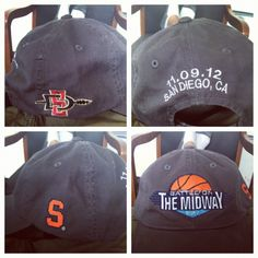 """New Battle on the midway hat #AztecNation"""